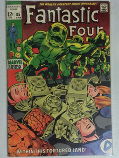 Fantastic Four #85 Jack Kirby 1969 Dr. Doom