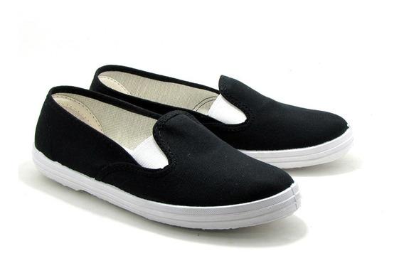 Zapatillas Panchas Nauticas ::lona Reforzada Wembly