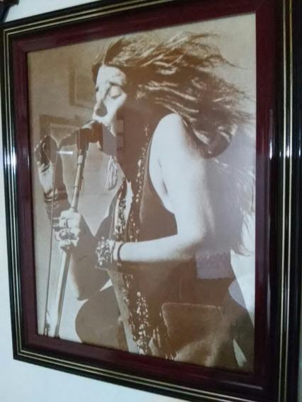 Pra Vender... Janis Joplin Emoldura Sob Medida! Qualidade!