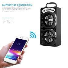 Caixa Som Portátil Bluetooth Ms-144bt