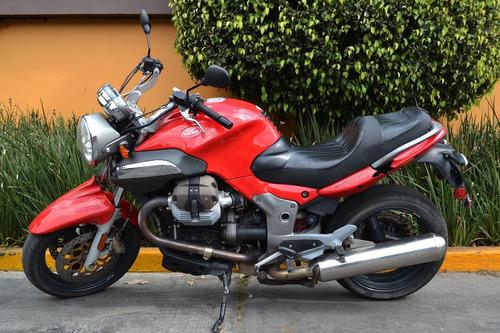 Imagen 1 de 9 de Potente Moto Guzzi Breva 1100 Lista Para Carretera
