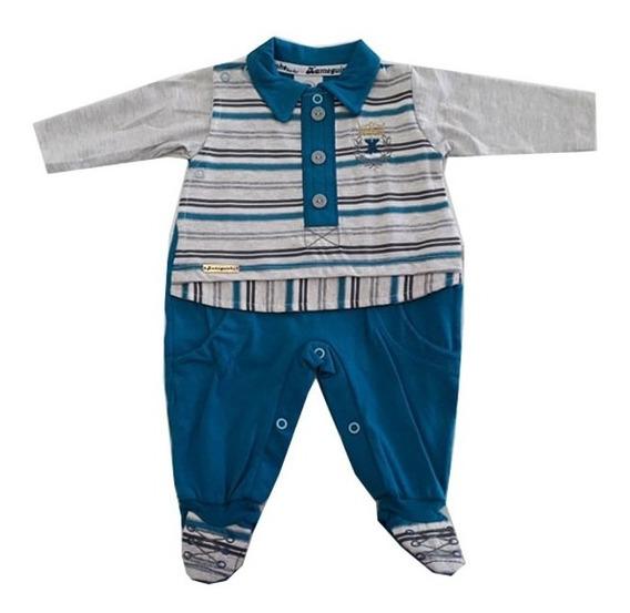 Macacão Infantil Bebê Menino- 015120