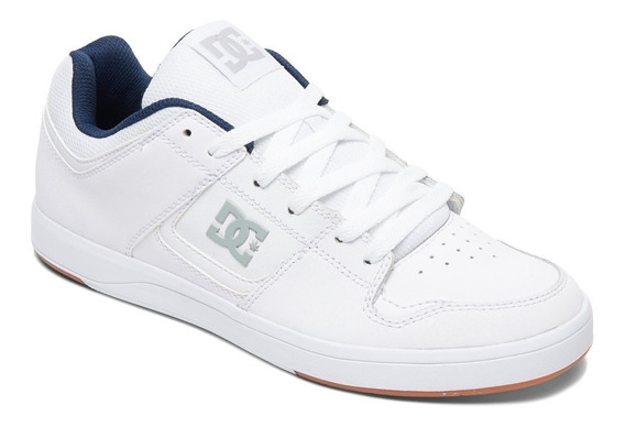 Zapatillas Dc Shoes Modelo Cure Blanco! Coleccion 2019