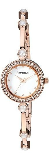 Armitron 75/5591 Reloj De Pulsera Para Mujer Con Detalles De