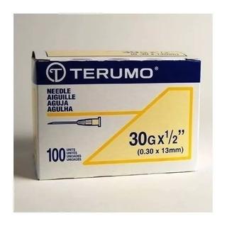 Agujas Descartables 30g 1/2 Terumo Caja 100u