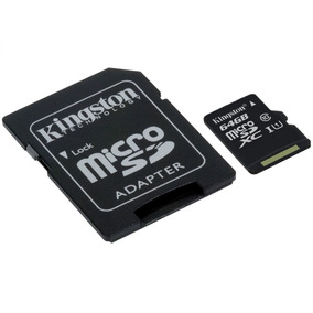Cartão De Memória - Microsdxc - 64gb - Kingston - Classe 10