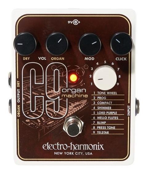 Pedal Ehx C9 Organ Machine Electro Harmonix Made In Usa