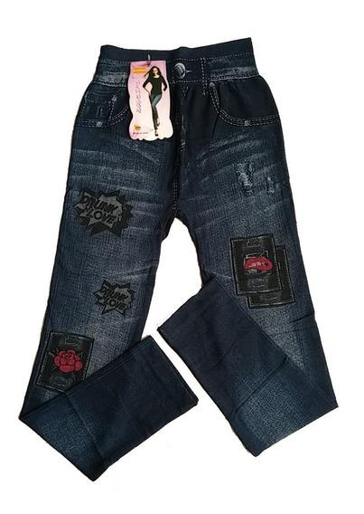 Leggins Damas Jeans Pantalon Casual Dama Sueter Strech Xl
