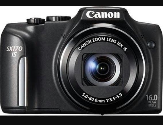 Câmera Canon Power Shot Sx170is 16mp- Deslacrada- Promoção
