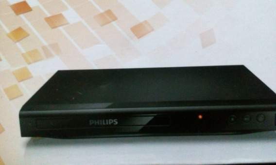 Dvd Player + Controle Original Philips