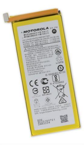 Imagen 1 de 4 de Pila Batería Motorola Moto G6 Plus (jt40)