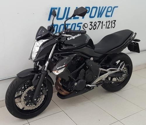 Kawasaki Er 6n 650 Preta 2012/12