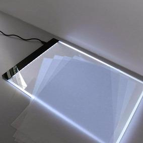Mesa De Luz Para Tatoo Caligrafia Desenho Stencil A4 Led