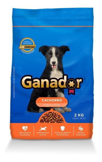 Ganador Alimento Perro Cachorro 2 Kg