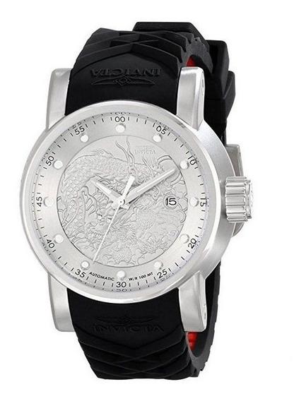 Relógio Invicta Yakuza Automatico Aço Inox 15862 Cor Prata