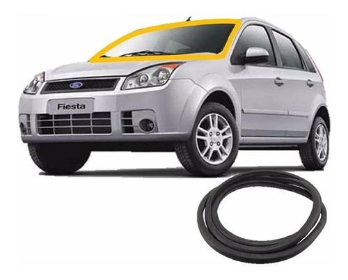 Kit Borracha Vedação Para Brisa Fiesta Hatch E Sedan 02/13
