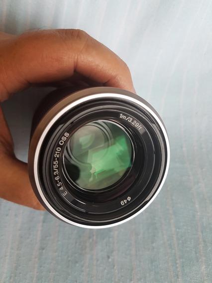Lente Sony E-mount Sel 55-210mm F/4.5-6.3 Oss Aps-c