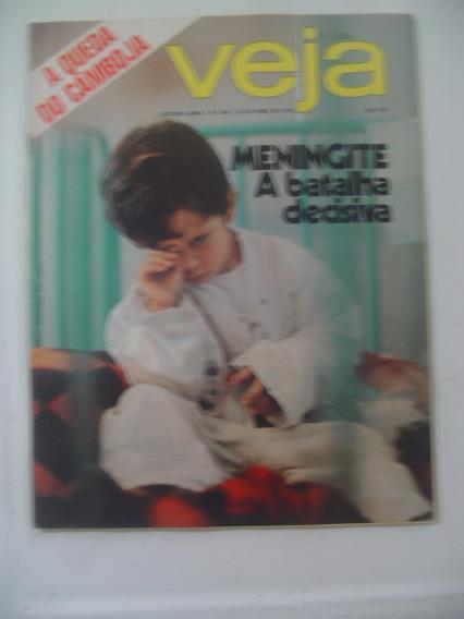 Revista Veja 346 Meningite Regina Duarte Indio Barbra 1975