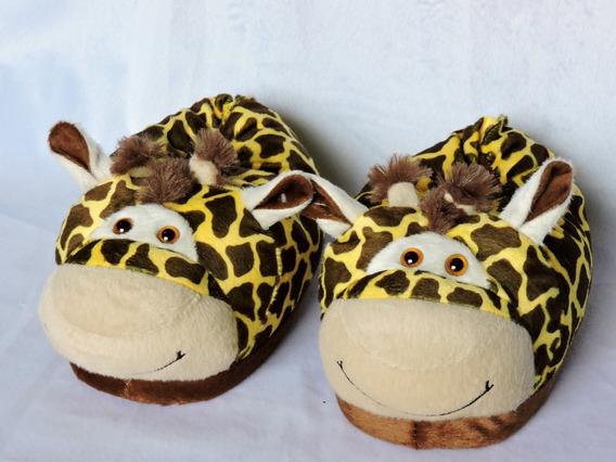 Pantufa Girafa 35 -37-39 Frete Grátis