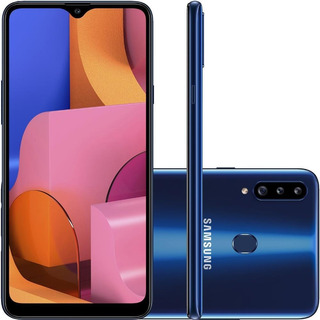 Smartphone Samsung Galaxy A20s 32gb Dual Chip Android 9.0 Te