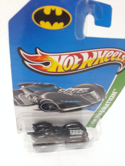 Carrito Hot Wheels (batimóvil Batman Arkham Asylum)