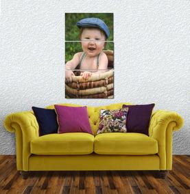 A Foto Do Seu Bebe Personalizado Em Um Lindo Quadro Em Mdf