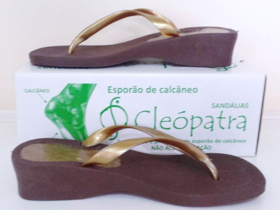 Chinelo Ortopédico Cleópatra P/tratamento De Esporão!