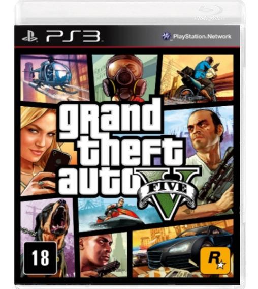 Grand Theft Auto V Gta V Ps3 Original Midia Fisica Seminovo