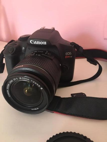 Canon T6 Usada Perfeito Estado + Lente 18-55mm