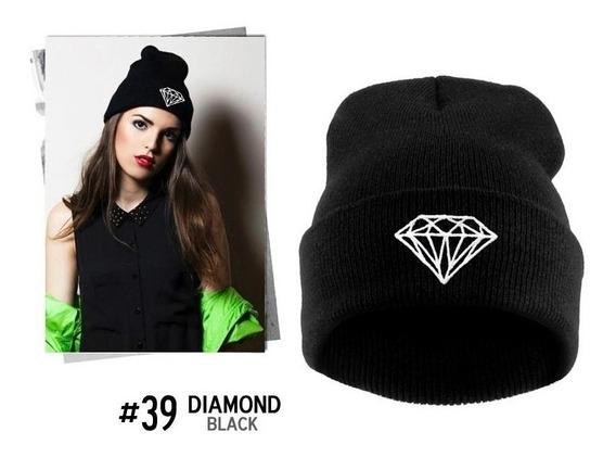 Toca Gorro Inverno Frio Diamond Pronta Entrega