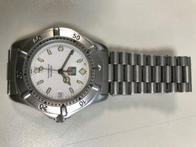 Relógio De Pulso Tag Heuer De Aço Swiss Made Original