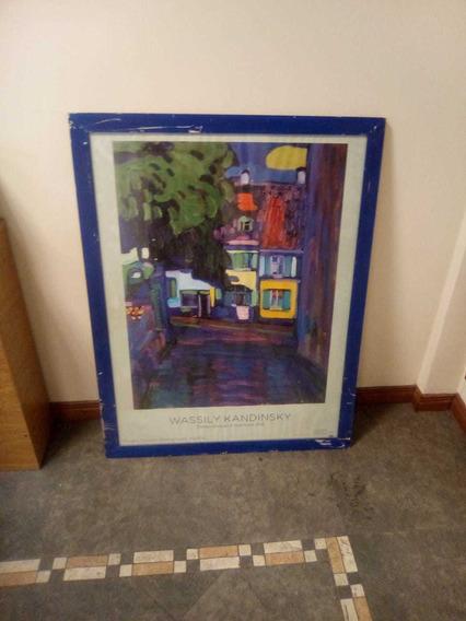 Cuadro Kandinsky Lámina Enmarcada