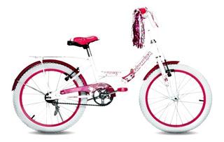 Bicicleta Niña Topmega Princess Rodado 20