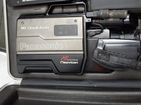 Filmadora Panasonic Omni Movie Vhs Com Mala De Transporte