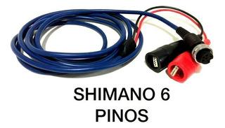 Cabo Carretilha Elétrica Shimano 6 Pino ( 3m )