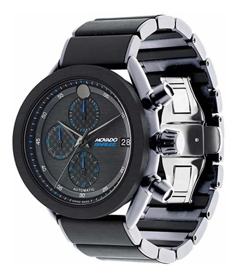 Relógio Movado Parlee Edição Limitada Titânio Fibra Carbono