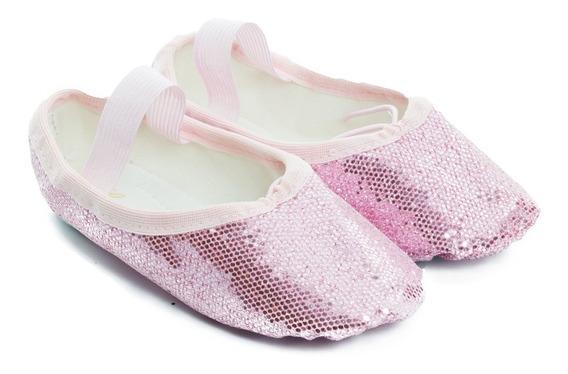 Sapatilha Infantil De Ballet Glitter Ludique Et Badin (22 Ao