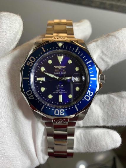 Relógio Invicta Grand Diver 3045 Automático Original