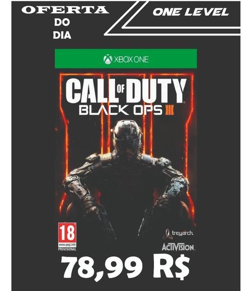 Call Of Duty Black Ops 3 Xboxone Original Sem Restrição