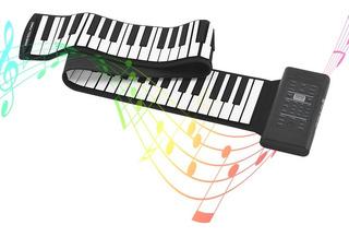 88 Teclas Porttil Roll Up Piano Teclado Electrnico S