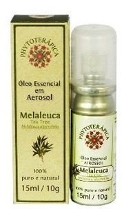 Óleo Essencial Em Aerosol Tea Tree (melaleuca) Phytoterapica