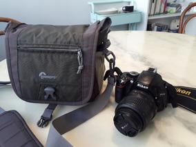Nikon D5100 + Bolsa Lowepro - Perfeito Estado