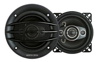 Parlante Auto 4 North Tech 200w Hi-fi 4 Vias