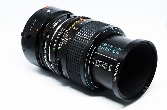 Minolta Md Macro+tubo Extensor+multiplicador 1.5x 50-75mm
