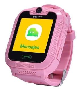 Reloj Instto Child 2 Niña Gps 3g Rastreo Cam Antipanico Rosa