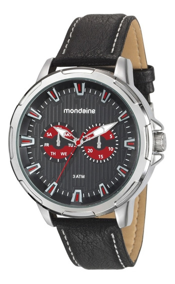 Relógio Masculino Mondaine Análogo Social 76693g0mvnh1 C Nf