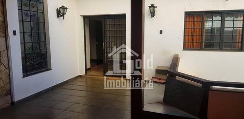 Casa Com 2 Dormitórios Para Alugar, 92 M² Por R$ 1.500/mês - Centro - Ribeirão Preto/sp - Ca1944