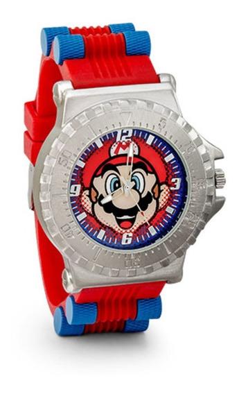 Reloj Original Nintendo Mario Bros Gamer Original Thinkgeek