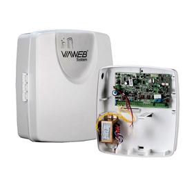 Central De Alarme Vw10 Smart + Receptor Sem Fio 1212 Viaweb