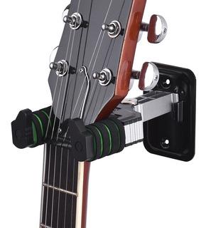 Atril Sujetador Colgador Soporte De Guitarra Para Pared